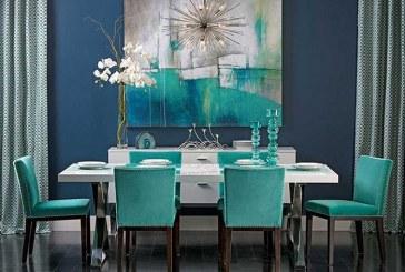 معجزهی رنگ آبی فیروزهای در طراحی داخلی منزل